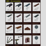 Revestido de piedra de materiales de construcción metálica de acero de color teja