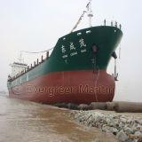바다 해결책에 있는 난파된 배 회수 에어백