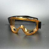 De bruine Beschermende brillen van de Bril van de Veiligheid van de Lens van PC van het Frame Duidelijke (SG142)