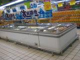 Feito em exemplos de console comerciais do supermercado de China