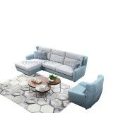 Sofà domestico moderno del tessuto dell'angolo della mobilia