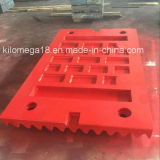 ExportingのためのよいQuality Jaw Crusher Jaw Plate