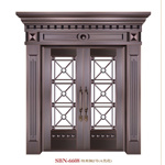 Trappe /Stainless Steel Door /Entrance Door/Son et Mother (6621)
