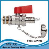 Kugelventil für Dampfkessel mit Endstück-Rohr (V20-026) leeren