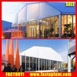 Salon de style européen allemand polygonale Hall tente avec mur de verre