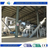 Pneumatico residuo alla pianta di pirolisi dell'olio della fornace