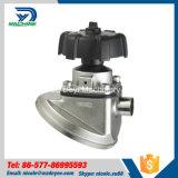 Válvula de diafragma soldada manual de la parte inferior del tanque del acero inoxidable (DY-V092)