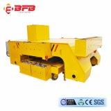 Vagone elettrico di maneggio del materiale di industria per le merci pesanti sulle rotaie