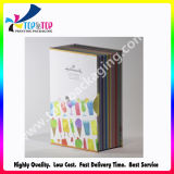 Style de luxe de différents types de papier en gros un emballage cadeau Box