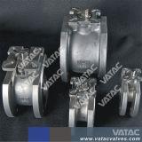 Forjado de hierro fundido o acero inoxidable Italia Wafer Válvula de bola con un pedazo de cuerpo delgado