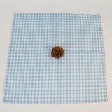 Impreso de la competencia en caliente se comprueba la tela de algodón de la cena