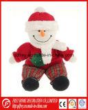 Giocattolo della peluche del pupazzo di neve dell'albero di Natale per il bambino