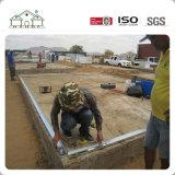 Casa prefabricada del chalet del hogar del panel de emparedado del bajo costo para el africano