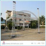 400X400mm Aluminium-Quadrat-Bogen-Binder-Dach