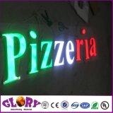 Знак с подсветкой LED эпоксидной смолы письма магазин Огнестойкий плакатный письмо подписать