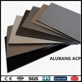 El panel compuesto de aluminio de Alubang de la capa nana del PE