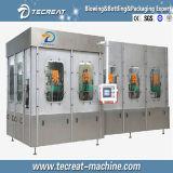 Suco quente automática máquina de nivelamento de enchimento de enxágüe monobloco