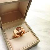 Manier die van de Verkoop van de douane de Hete Rechtse Ring, de Volks Gouden Ringen van Juwelen charmeren