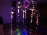 2017 Hot Transparent Helium Round Bobo Balloon for Wedding Party