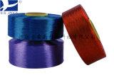 FDY Dope teints 400D/192f tirées de fils de polyester à filaments