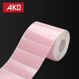 Rose Blanc Bleu Jaune autocollants colorés étiquette papier thermique