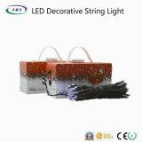 Iluminação ao ar livre impermeável da luz nova da corda do Natal do diodo emissor de luz do projeto