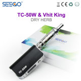Re caldo Vape Box Mod di Seego Tc-50W+Vhit di vendita con il prezzo poco costoso
