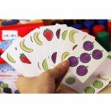 Scheda di plastica del gioco da tavolo del PVC della mazza di carta