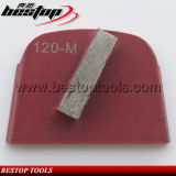 O diamante utiliza ferramentas uma placa de moedura concreta de Lavina do segmento da barra