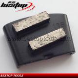 Raspador da ligação do metal da barra dobro para o moedor da placa de moedura de HTC