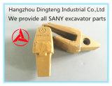 掘削機のバケツの歯のホールダーSy200c。 3.4.1-21 Sanyの掘削機Sy135/195/205/215のための第10143904