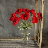 Flores artificiales de la orquídea de la manera Wedding la decoración casera