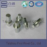 5X15.5mmの白亜鉛カラー固体鋼鉄リベット
