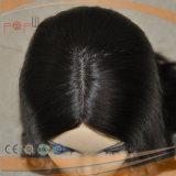 Brasilianisches Haar Silk oberste wellenförmige Sheitel Perücke (PPG-l-0328)