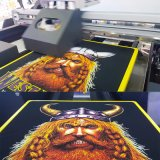 Los DTG dirigen a la impresora de la camiseta de la impresora de la ropa con la cabeza de impresión dos