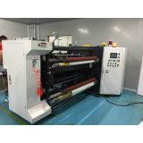 Duplex automático da película Horizontal rebobinador de alta velocidade e cortador a máquina
