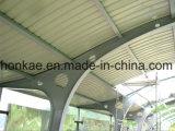 La memoria si è liberata della tettoia d'acciaio Finished dissipante della costruzione prefabbricata del negozio della struttura d'acciaio