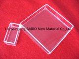 Smeltkroes van het Kwarts van de Container van het Glas van het Kwarts van de Vorm van de Weerstand van de Corrosie van Baibo de Vierkante