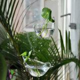 ロープが付いている結婚式の装飾のためのハングのガラスつぼ