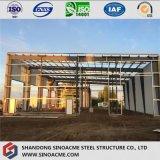 Gruppo di lavoro della struttura d'acciaio della Cina con il tetto piano