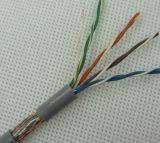 UTP Cat5e/CAT6 prüfte im Freienvernetzung LAN-Kabel mit Plattfisch