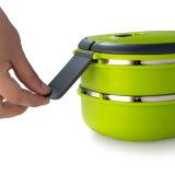 contenitore di alimento della casella di pranzo di Bento dell'acciaio inossidabile 900ml con la maniglia 22147
