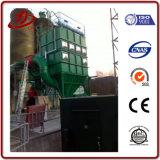 Staub, der Maschinen-Ansammlungs-Systems-Fangfederblech montiert