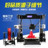 3D Printer van uitstekende kwaliteit van de Vervaardiging van de Lage Prijs de Chinese A8