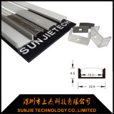La superficie ha montato il profilo di alluminio della striscia del LED per l'indicatore luminoso di striscia
