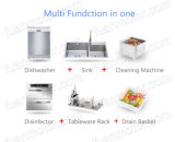 Lavapiatti della cucina in dispersore automatico
