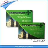 Tarjetas de Shool, tarjetas de biblioteca, carnets de socio, tarjeta del PVC, tarjetas inteligentes, tarjetas plásticas
