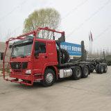 Sinotruk HOWO 371CV Log/Madera Carretilla para el transporte de madera