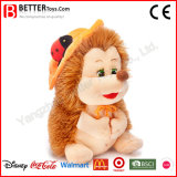 Brinquedo macio do Hedgehog do luxuoso do animal enchido da alta qualidade para miúdos do bebê