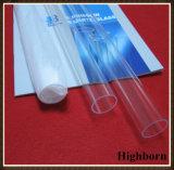 Limpar o bloco UV polaco sílica fundida Tubo de vidro de quartzo